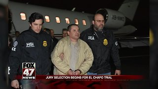 Jury selection begins today in the long-awaited trial of 'El Chapo' Guzman