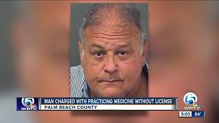 Jupiter doctor accused of practicing without a medical license - Video