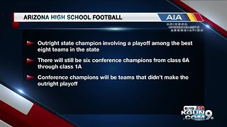 AIA state football changes - Video