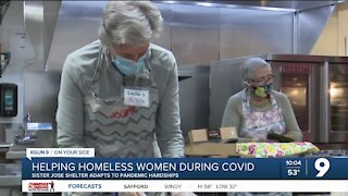 Sister Jose Women's Center helps homeless women during the pandemic