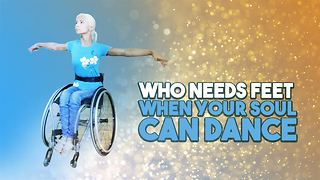 This wheelchair dancing champion knows no limits - Video