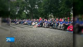 Old Glory Honor Flight takes 40th mission to Washington, D.C. - Video