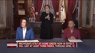 Michigan's stay-at-home order now in effect
