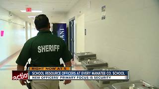 Manatee County adding more armed security officers to schools - Video