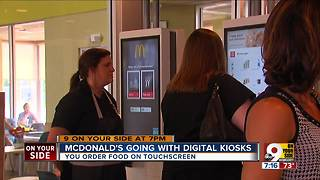 McDonald's adding digital kiosks