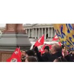 Protesters Defend DACA in Front of Capitol Building in Washington - Video