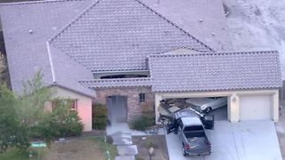 Truck crashes into home near Jones, Grand Teton - Video