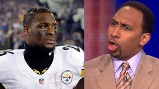 "Le'Veon Bell Calls Stephen A Smith a ""HATER"" for Calling Him a Decoy Running Back - Video"