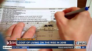 The cost of living is on the rise in 2018 - Video