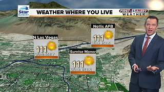 13 First Alert Las Vegas weather August 7 morning - Video