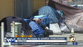 City, county working together in new program to battle homelessness in Hillcrest