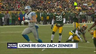 Zach Zenner re-signs with Lions