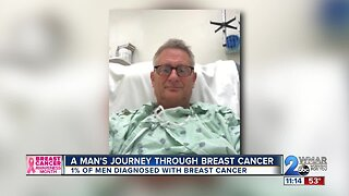 A man's journey through breast cancer