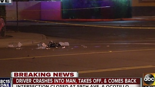 PD: Hit-and-run driver returns to Glendale scene