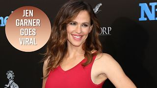 Jennifer Garner gives best performance on laughing gas - Video
