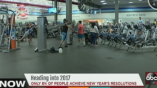 Heading into 2017: Only 8% of people achieve New Year's resolutions - Video