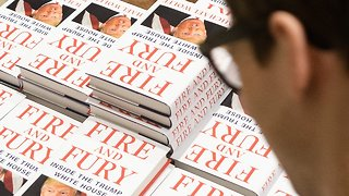 Michael Wolff's 'Fire And Fury' Is Flying Off The Shelves - Video