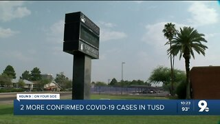 COVID-19 cases force changes at 2 TUSD schools
