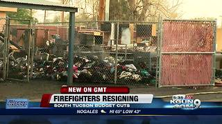 South Tucson firefighters resigning - Video
