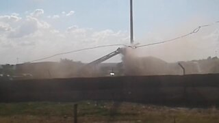 Rustenburg issues a building contractor with a warning for air pollution (MC2)