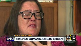 Thieves target Valley woman's home days after mother's death - Video