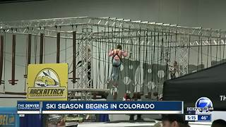 Ski season begins in Colorado - Video
