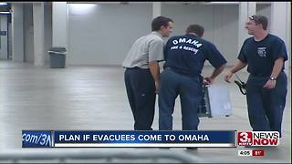 Plan if Hurricane Harvey evacuees come to Omaha 5p.m. - Video