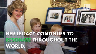 Princess Diana's Legacy 20 Years Later - Video