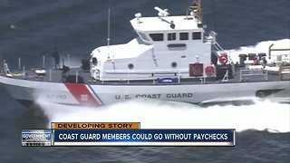Coast Guard impacted by government shutdown