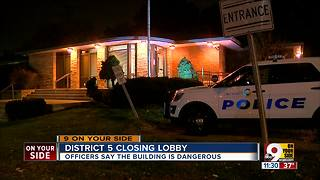 District 5 headquarters office to close to public Sunday - Video