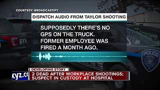 2 dead after workplace shootings, suspect in custody - Video