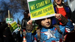 Oakland Teachers Strike For Pay Raise, Better Work Conditions