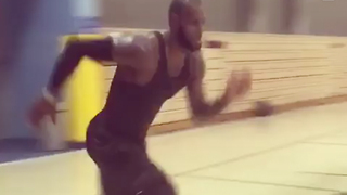 LeBron James New Workout Video Looks F**king EXHAUSTING - Video