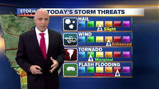 Mark McGinnis' Saturday morning Storm Team 4cast - Video