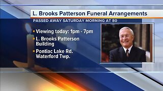 Public viewing to be held for L. Brooks Patterson