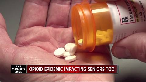 With all the news about the opioid epidemic, there's an unexpected group in trouble: Older people.