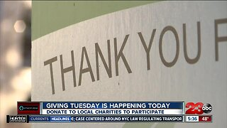 Giving Tuesday happening in Kern County