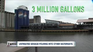 I-Team: Niagara River isn't the only WNY waterway where sewage is dumped - Video