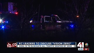 KC leaders to discuss 'Vision Zero'