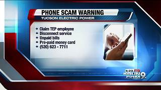 TEP issues phone scam warning