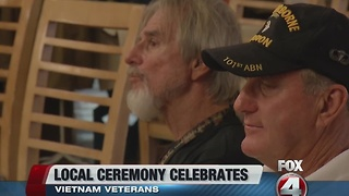 SWFL Vietnam Vets honored - Video