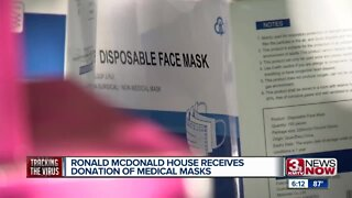 Ronald McDonald House Receives Donation of Medical Masks