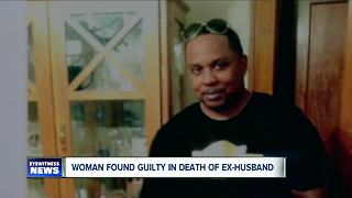 Woman found guilty in death of ex-husband - Video