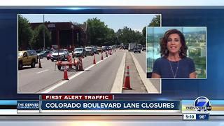 Daily closures on Colorado Blvd. scheduled for next couple weeks - Video