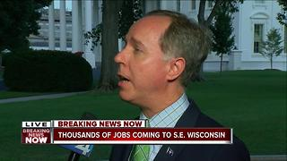 Assembly Speaker Robin Vos reacts to Foxconn announcement - Video