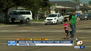 Neighbors ready to fight for safer streets