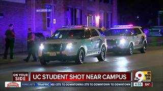 UC student shot near campus - Video
