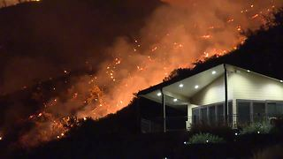 Hill Road Fire contained after threatening homes in the Boise Foothills - Video