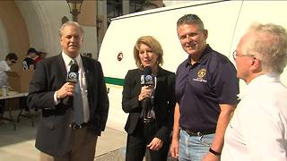 Palm Beach Co. Sheriff's Foundation takes part in Food for Families - Video