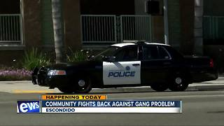 Escondido neighborhoods continue fight against gangs - Video